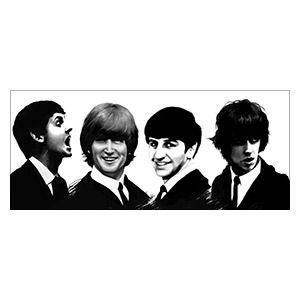 Beatles. Размер: 140 х 60 см